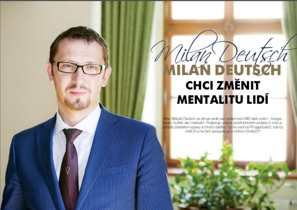 Milan Deutsch business life july 2015